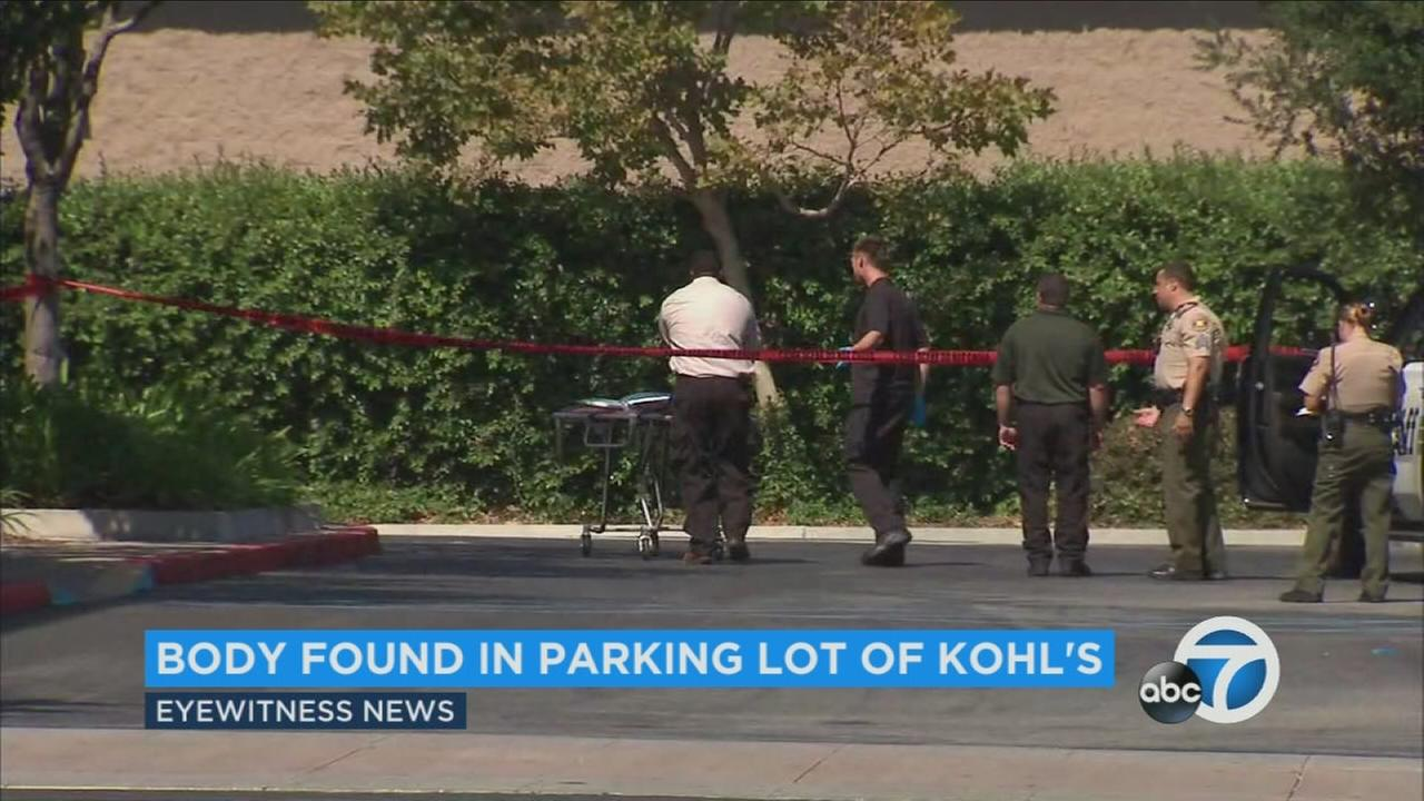 A death investigation was underway near a Kohls in Newbury Park Saturday morning, according to the Ventura County Sheriffs Department.