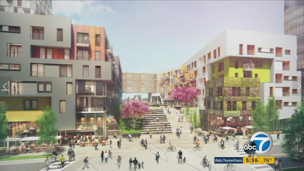 A planned development project in South L.A. has prompted protests from some residents concerned over gentrification and housing affordability.