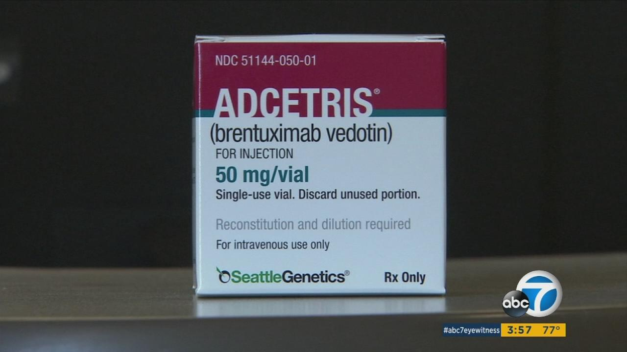 Researchers have found that the drug brentuximab vedotin has been helping people with Hodgkin lymphoma as one grateful Southern California man is learning.