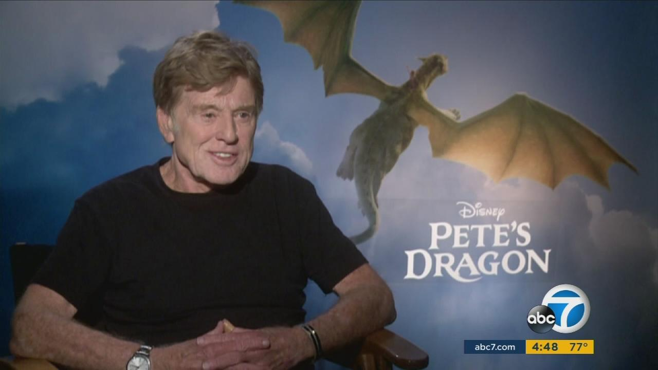Hollywood veteran Robert Redford discussed Petes Dragon and his hope to bring magical inspiration to audiences.