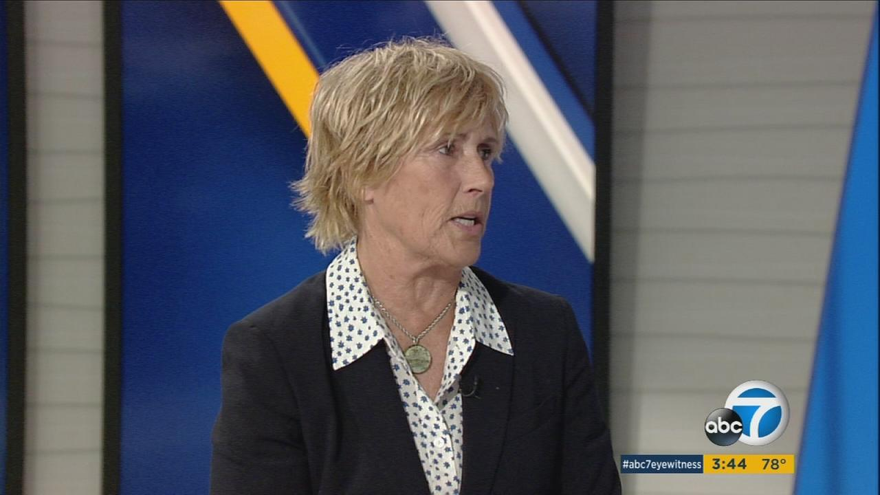 Long-distance swimmer Diana Nyad, who at age 64 became the first person to swim from Cuba to Florida without a shark cage, is promoting a new memoir as well as a walking-based exercise initiative.