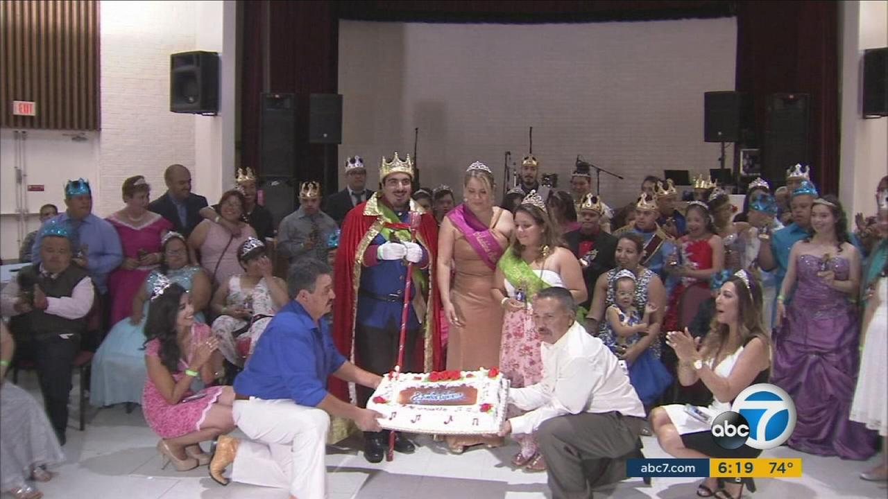 Suenos y Esperanza, a group that uses singing and dancing to help those with special needs, celebrated its seventh year in Lynwood on Sunday, Aug. 21, 2016.