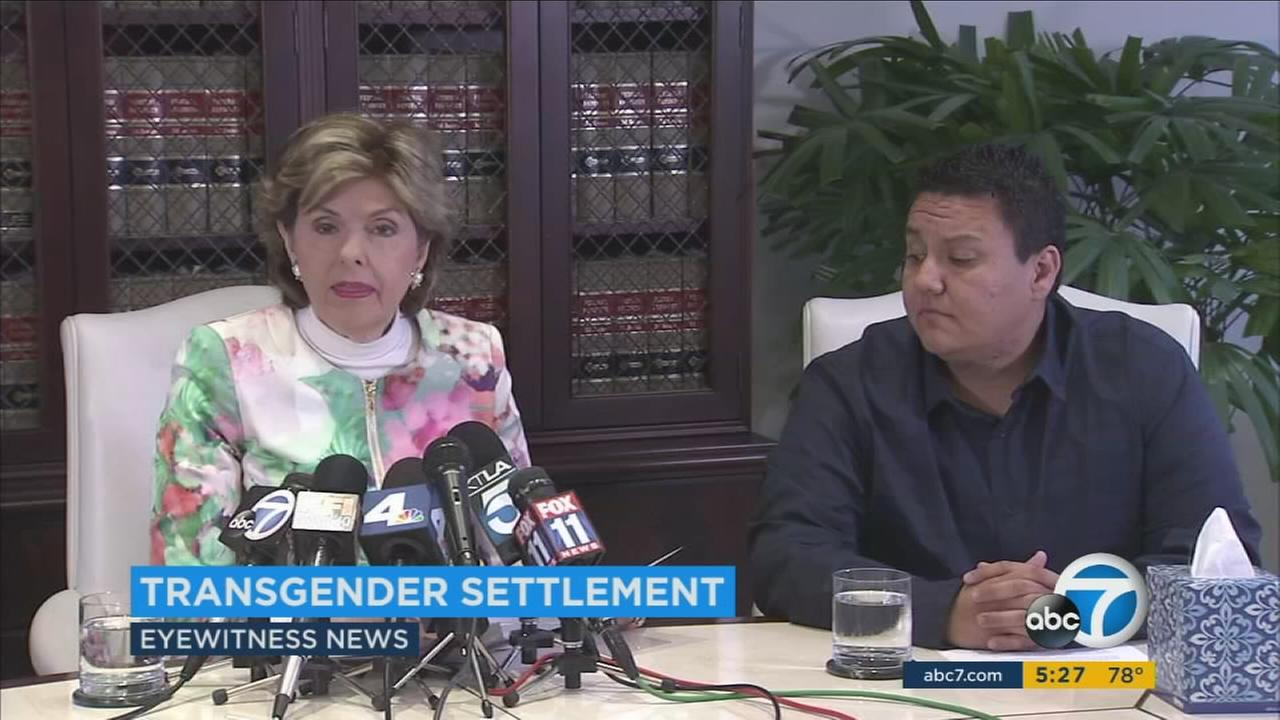 A settlement has been reached in a lawsuit with a Long Beach barbershop that was accused of refusing to give a haircut to a transgender man.