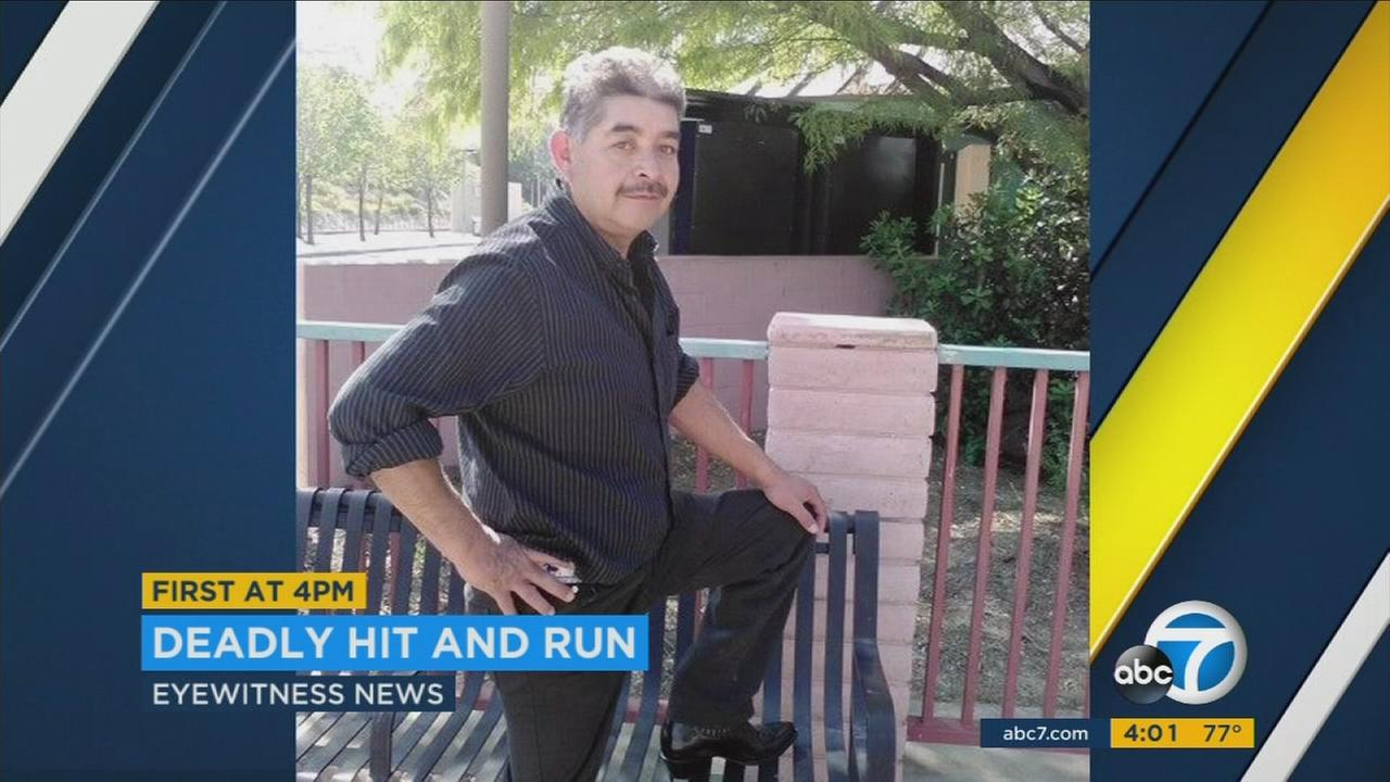 A family is grieving the loss of their father after a deadly hit-and-run crash Sunday night in Newhall.