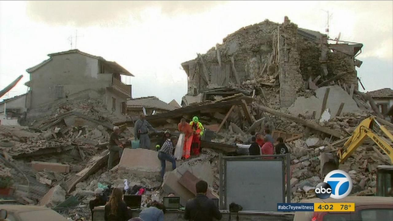 The death toll in the devastating Italy earthquake early Wednesday has risen to 159 but the number of dead and missing was uncertain given the huge number of vacationers in the area for summers final days.