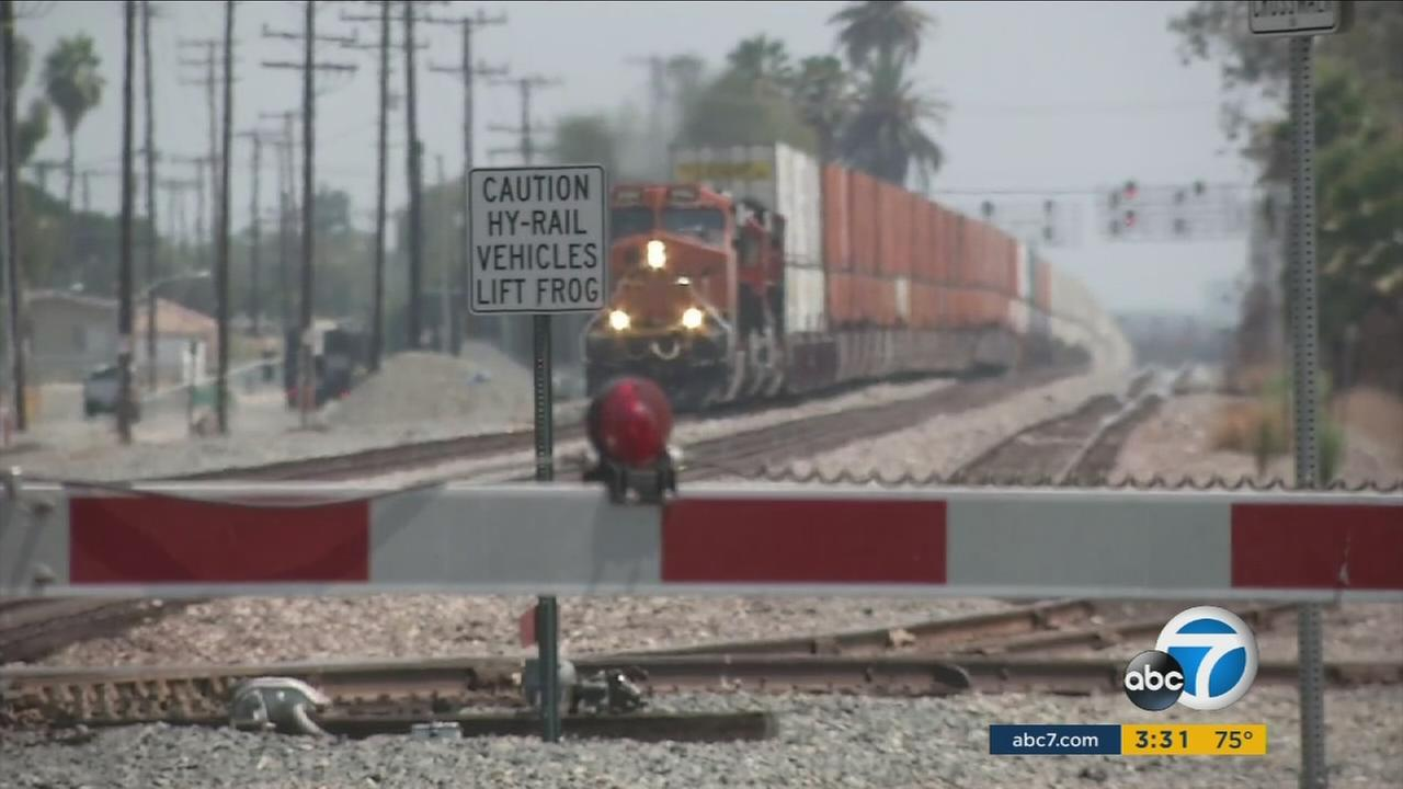 The railroad crossing at Rosecrans and Marquardt avenues in Santa Fe Springs has been described by a public agency as the most dangerous in California.