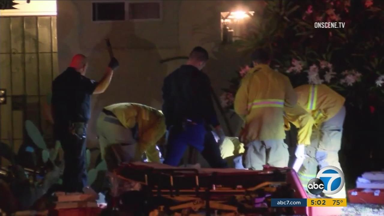 A woman was shot to death in the front yard of a Garden Grove home following an altercation on Wednesday, Aug. 25, 2016, according to police.