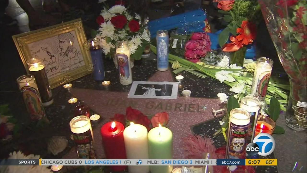 Many gathered throughout Southern California to mourn the death of Latin music superstar Juan Gabriel.