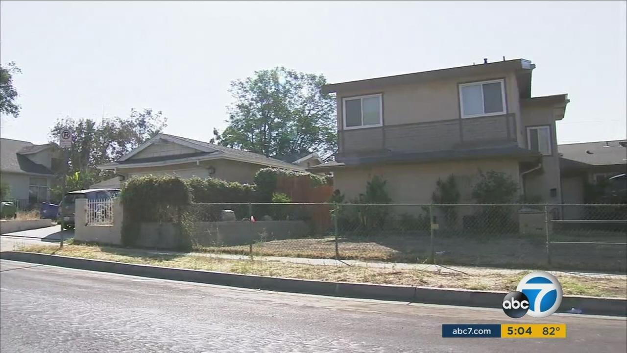 An argument at a Sylmar home ended with two men killed and one wounded in a shooting, Los Angeles police said.