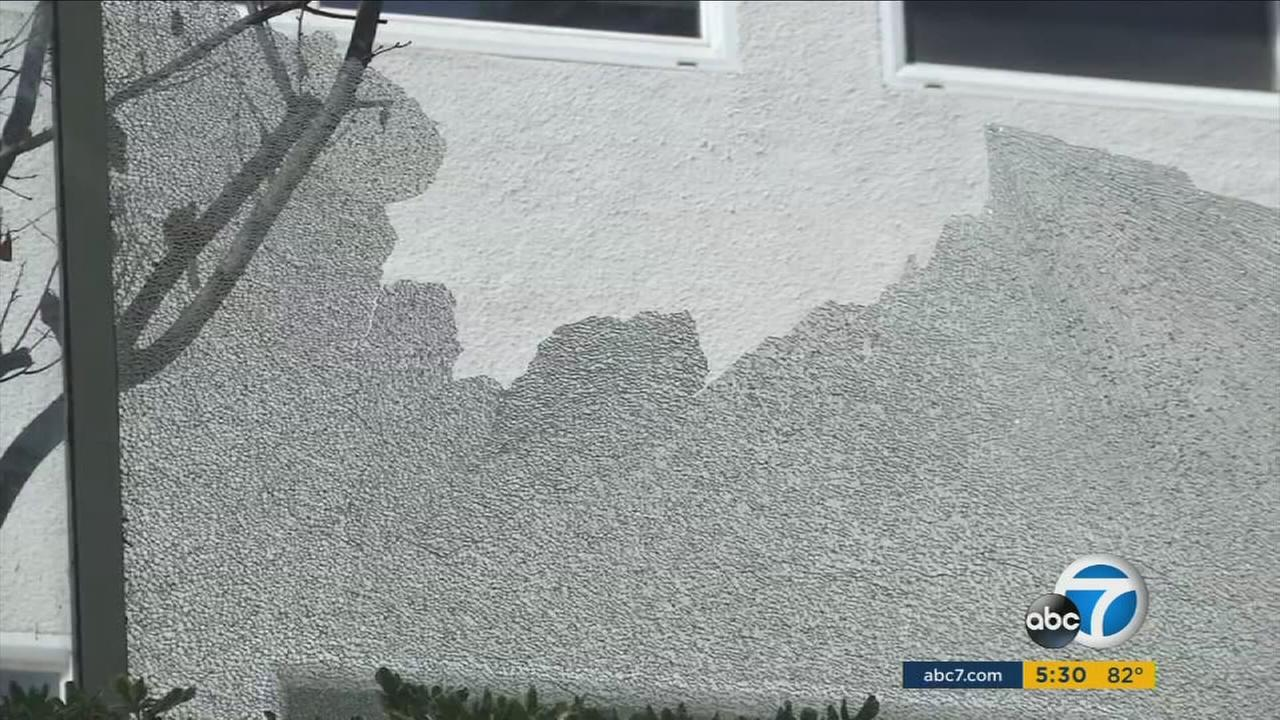 Fullerton police are asking for the publics help as they search for the vandal behind a wave of pellet gun vandalism.