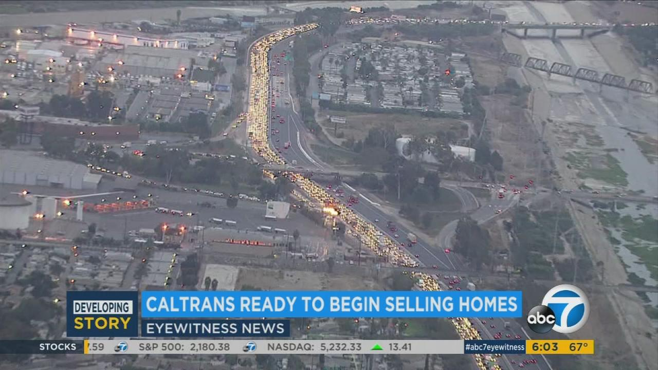 Caltrans will sell homes along the proposed 710 Freeway extension in El Sereno, South Pasadena and Pasadena.