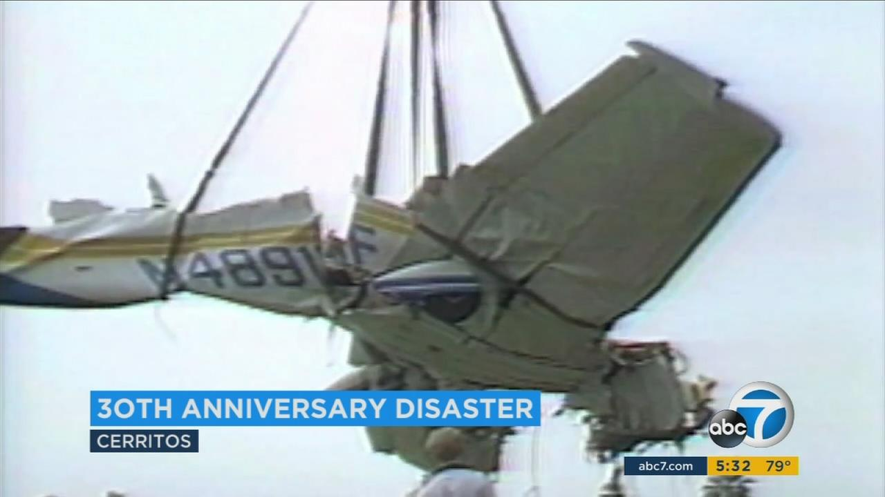 Wednesday marked the 30th anniversary of a midair collision over Cerritos that killed 82 people on Aug. 31, 1986.