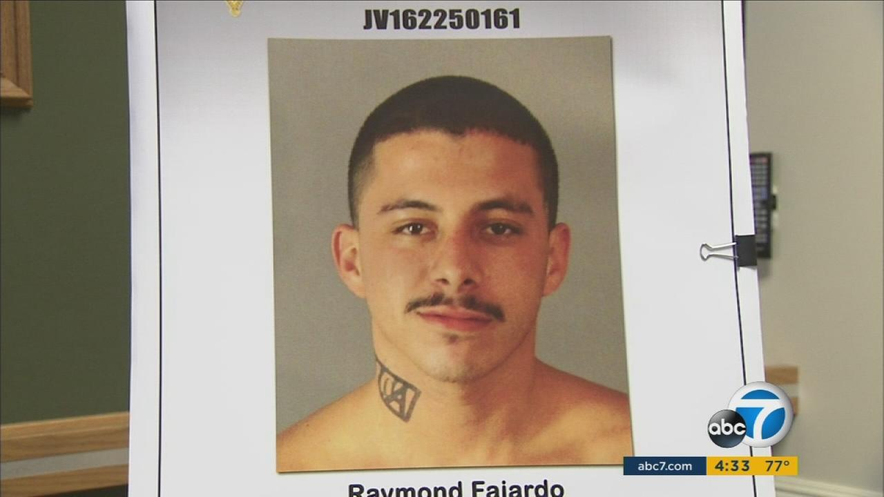Deputies said Raymond Fajardo, a documented gang member, was arrested in connection with the shooting death of 71-year-old Ronald Capotosto near Jurupa Valley Country Club.