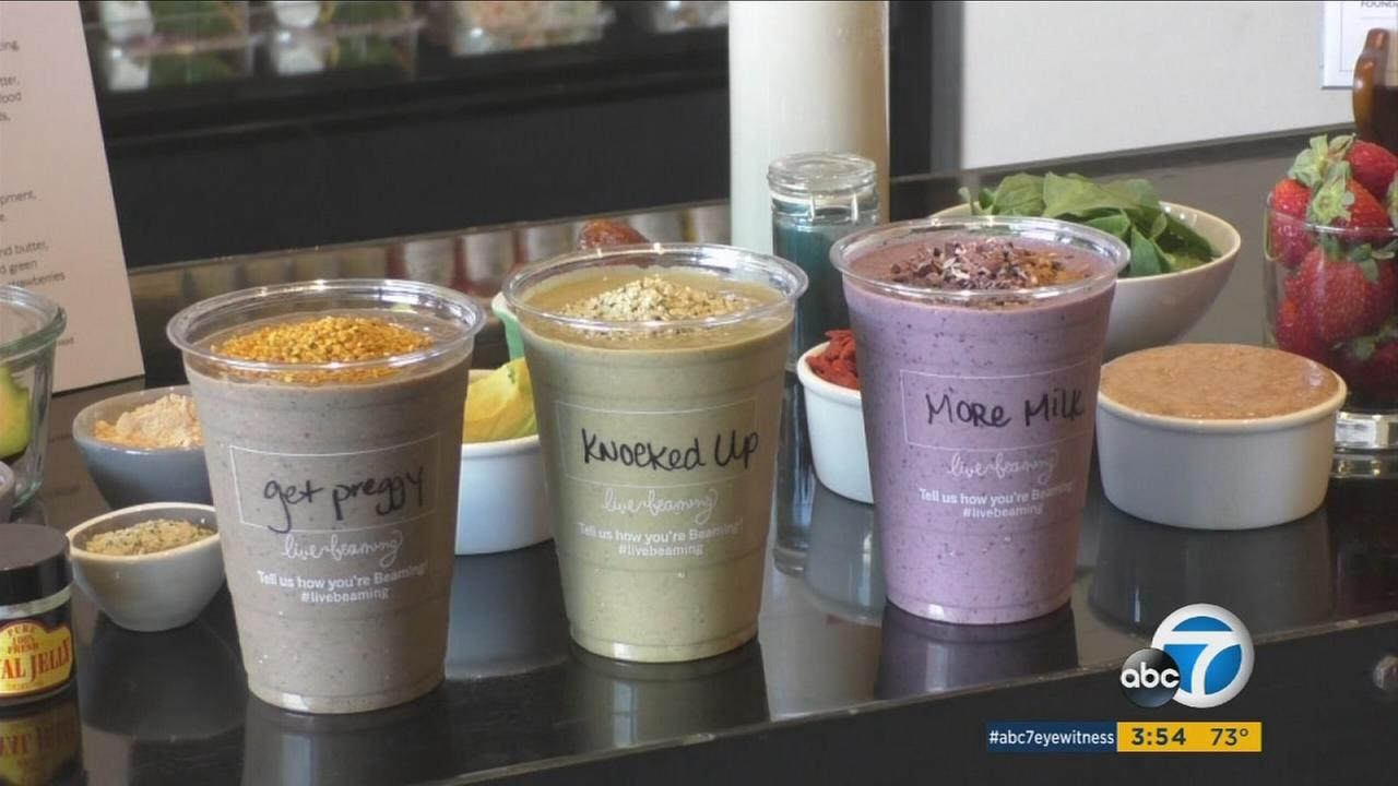 Pregnancy smoothies are helping pregnant woman and those trying to conceive get the proper nutrition they need.