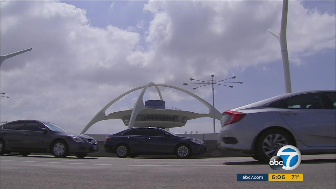 The Los Angeles International Airport was a gridlock at times due to the high traffic of travelers over Labor Day Weekend.