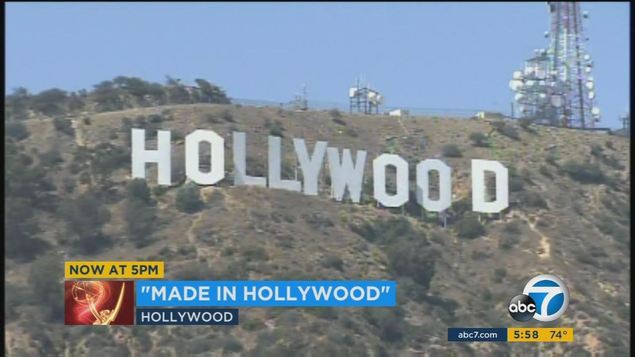Made in Hollywood honors the TV shows shot and made in Hollywood, helping to keep money in the state of California.