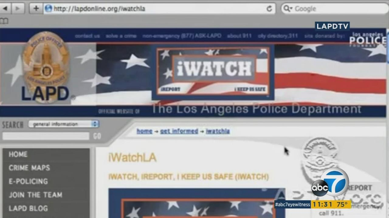 The iWatch LA app, an initiative to prevent terrorism, has extended into Los Angeles County.