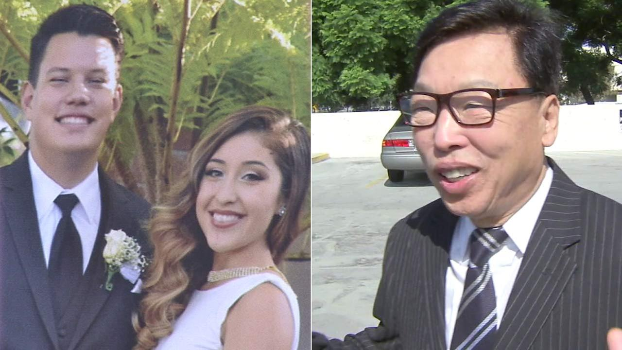 George A. Steward and Sabrina D. Castillo, left, were killed when the truck they were in was struck by a Lexus driven by Key Kim, right.