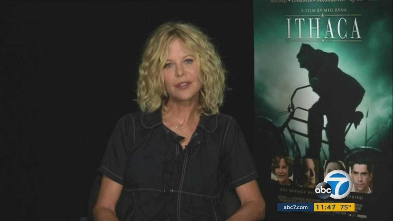 Meg Ryan returns to the big screen in a WWII-era film that she acted in, co-produced and, for the first time, directed.
