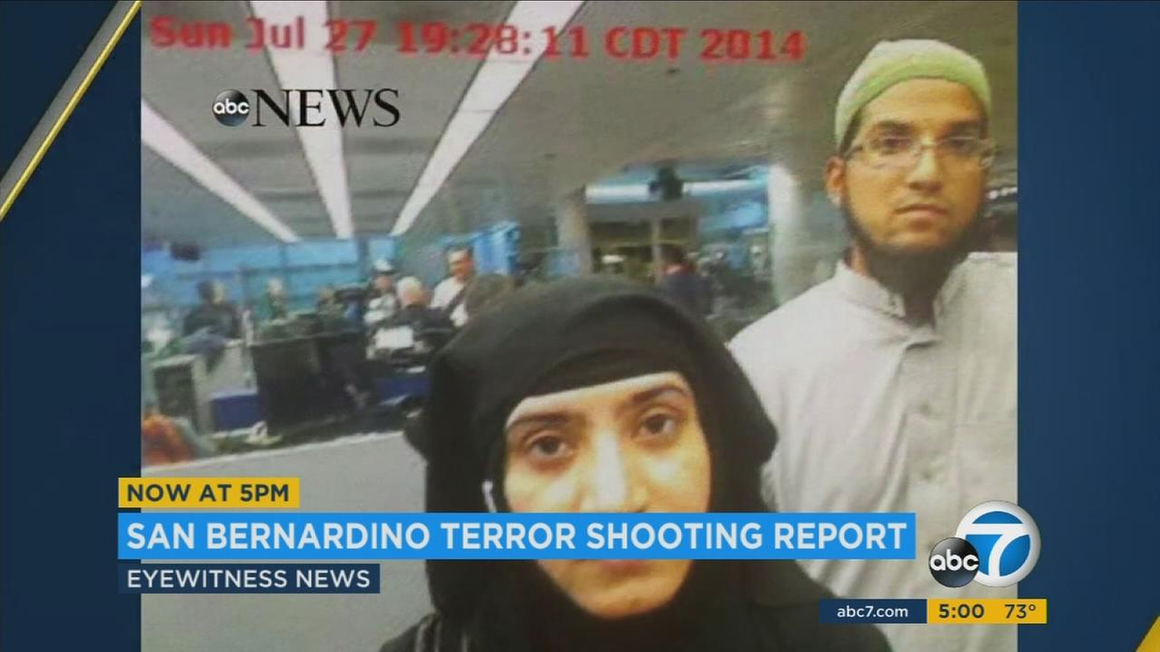 Syed Farook and his wife Tashfeen Malik are shown in undated photos.