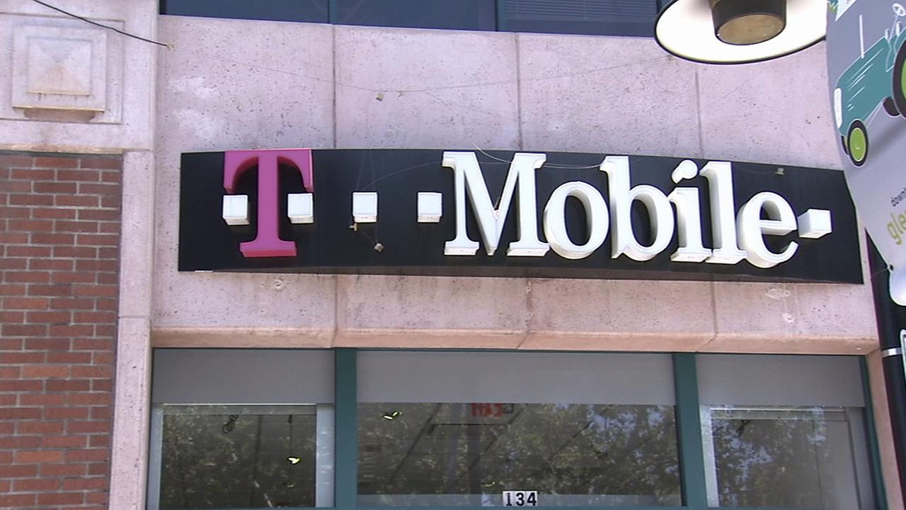 A T-Mobile storefront in Glendale is seen in this file photo.