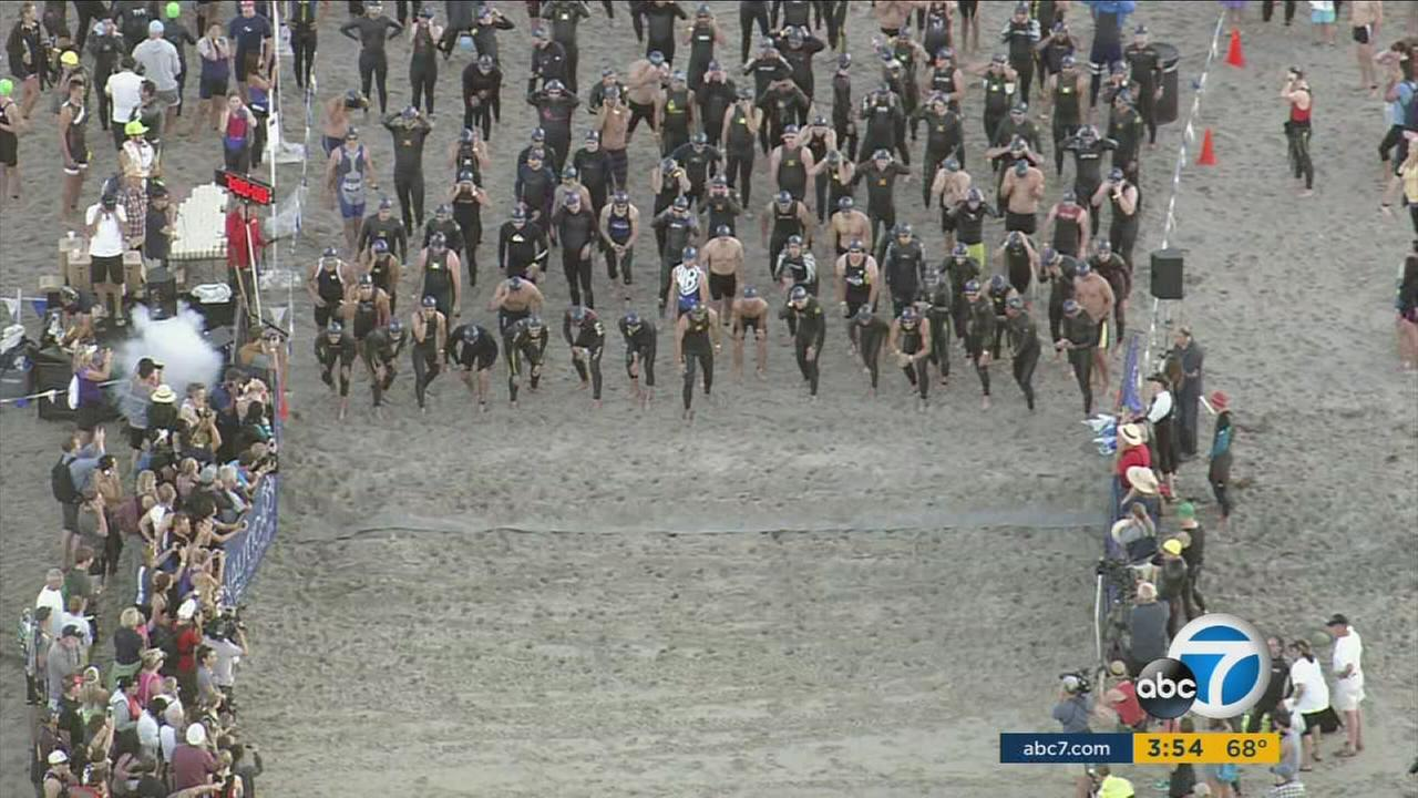 The Nautica Malibu Triathlon will bring out 5,000 athletes all in an effort to support childrens cancer research.