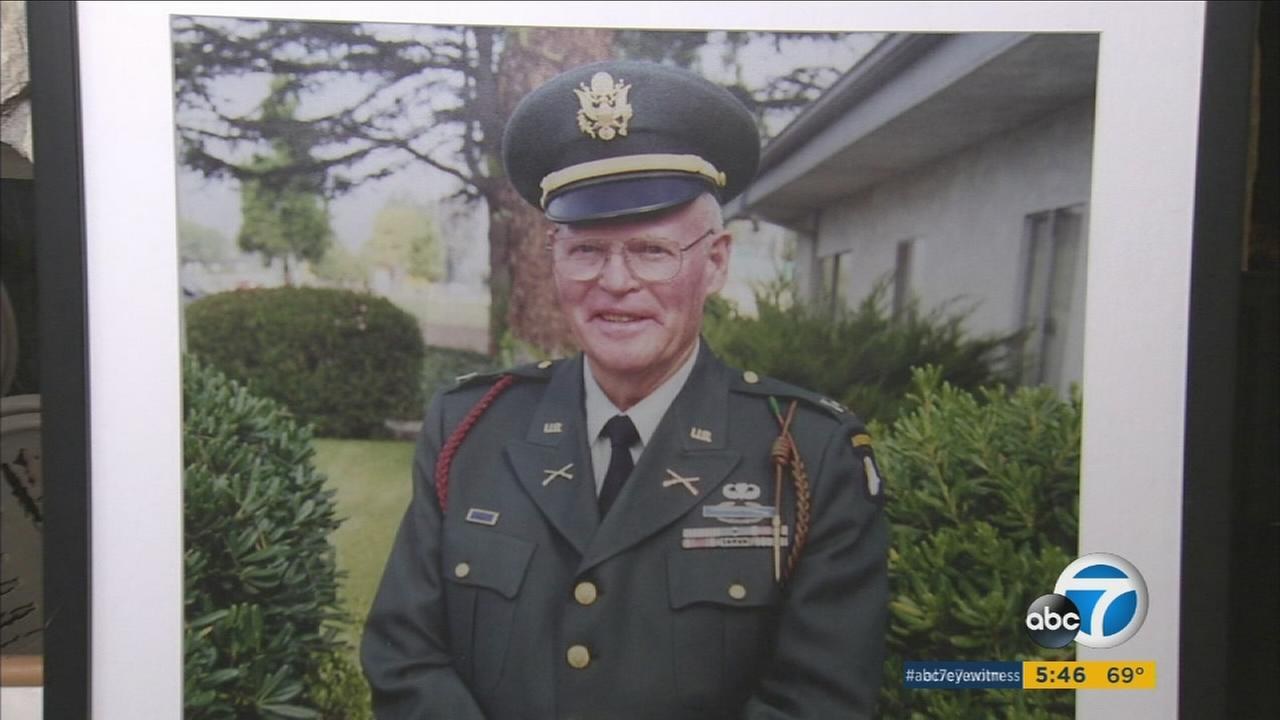 World War II veteran Emmett Nolan and his United Airlines flight made it to Virginia, but his luggage containing his war uniforms, ribbons and medals were lost.