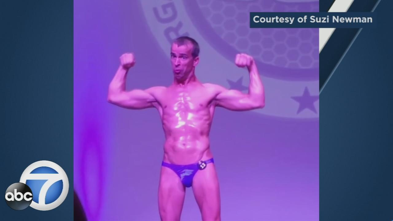 Bodybuilder Steve Alexy, who has cerebral palsy, has inspired millions after video of his competition was posted to social media.