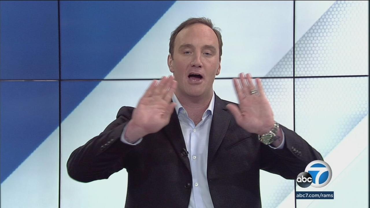Jay Mohr declares the Rams 28-0 loss in their season opener never happened. Just like his own appearance in Pluto Nash.
