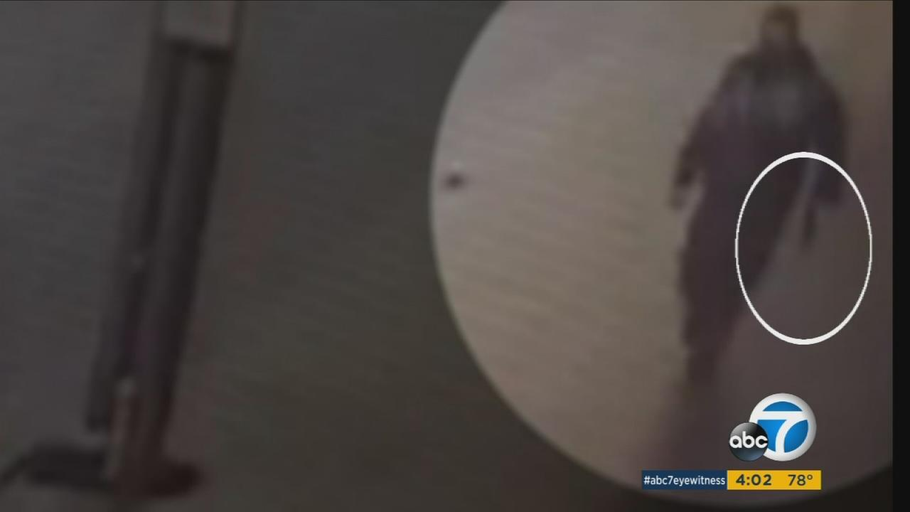 Surveillance video captures a suspect believed to be connected with the bombing in New York City and New Jersey.