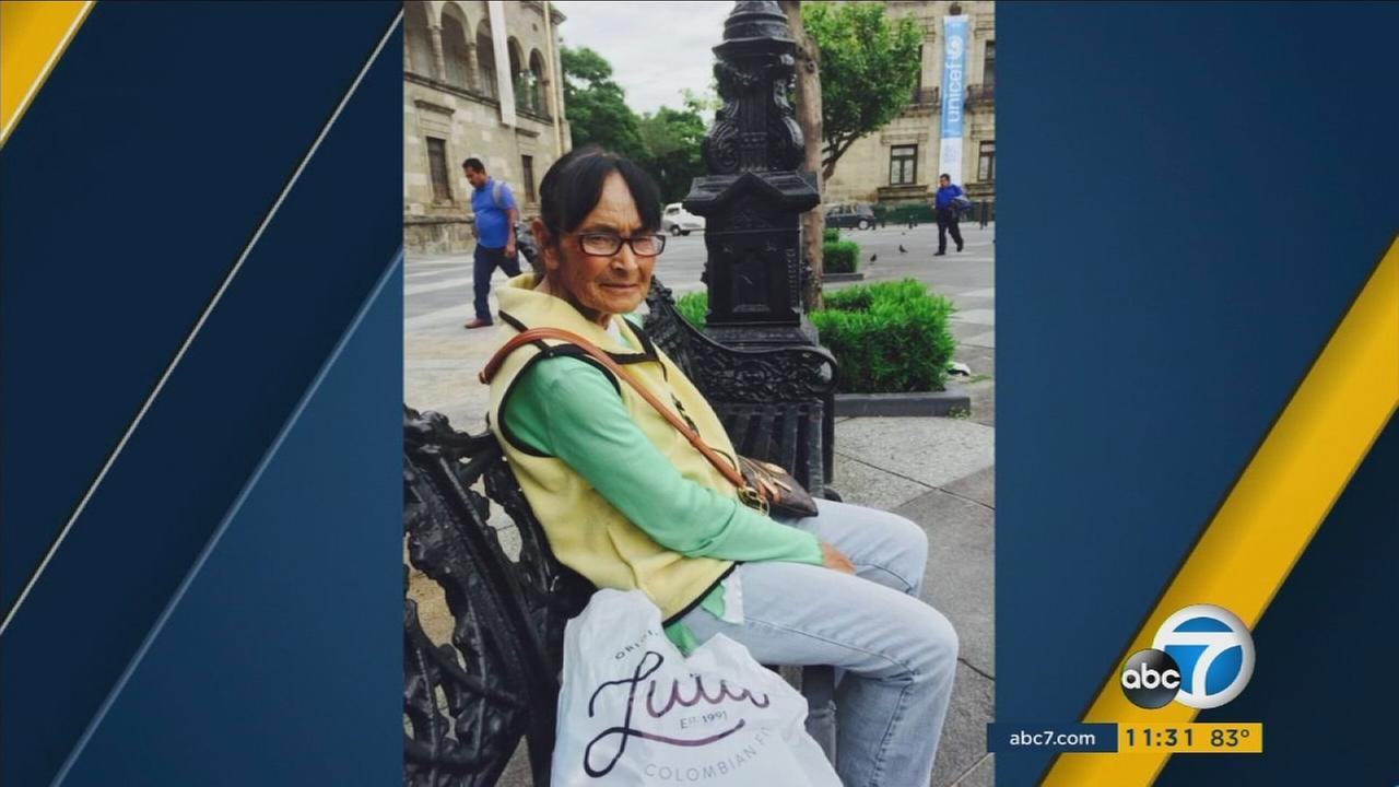 An undated photo provided by family members of 79-year-old Maria Covarrubias, who was killed in a hit-and-run in South Los Angeles.