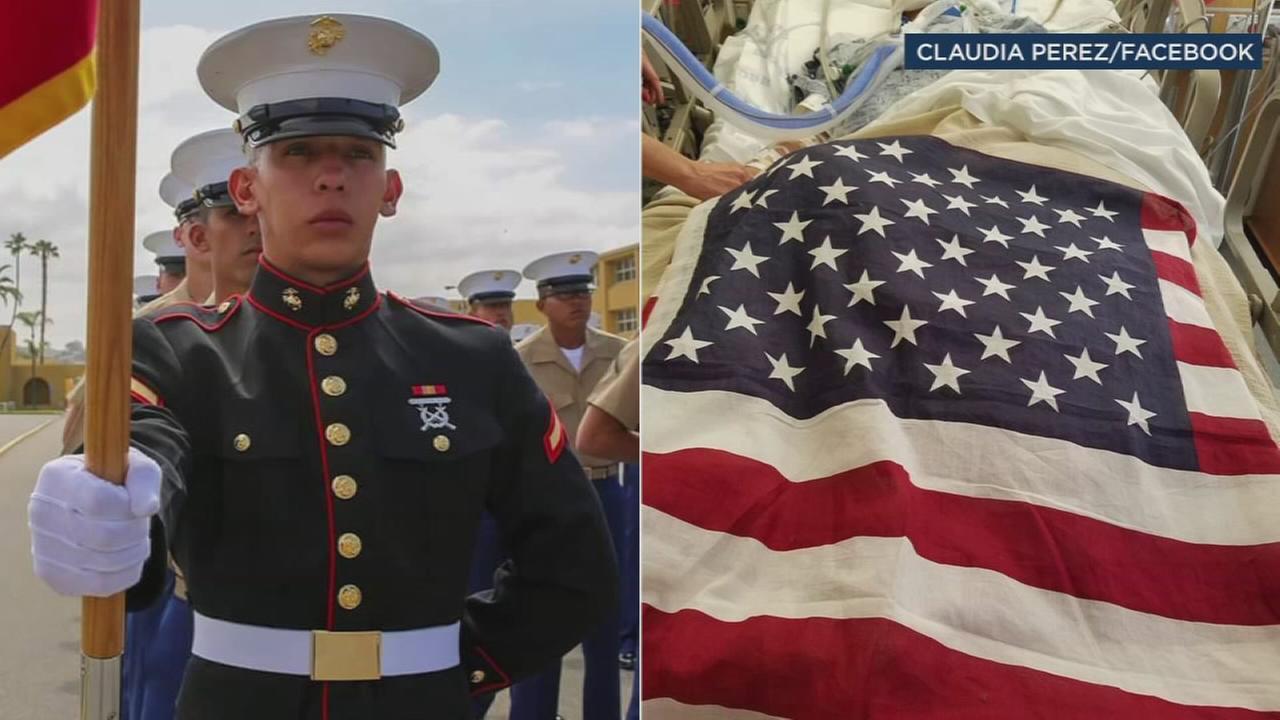 Vigil for Marine shot