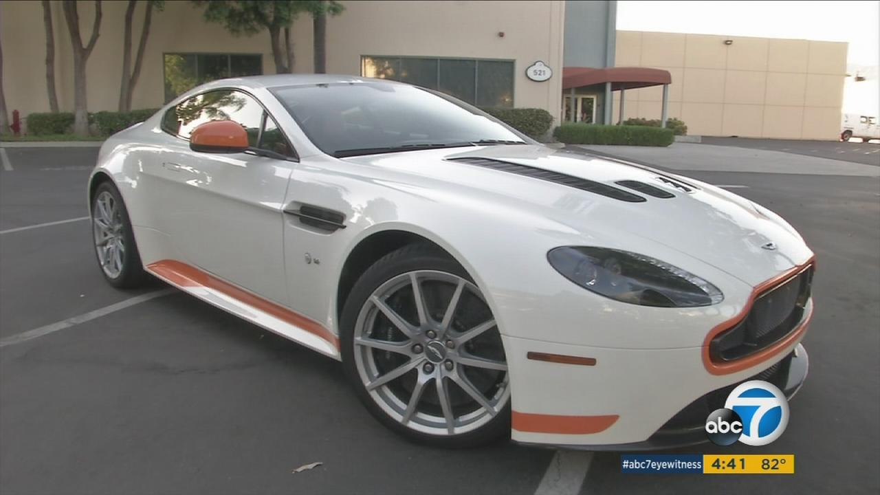 The 2017 Aston Martin V12 Vantage S manual is shown in an undated photo.