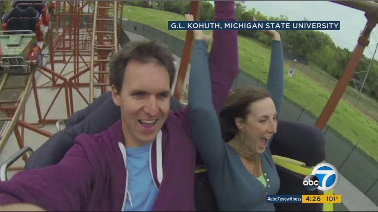 Its hair-raising research as scientists say riding a roller coaster might be a cure for kidney stones.