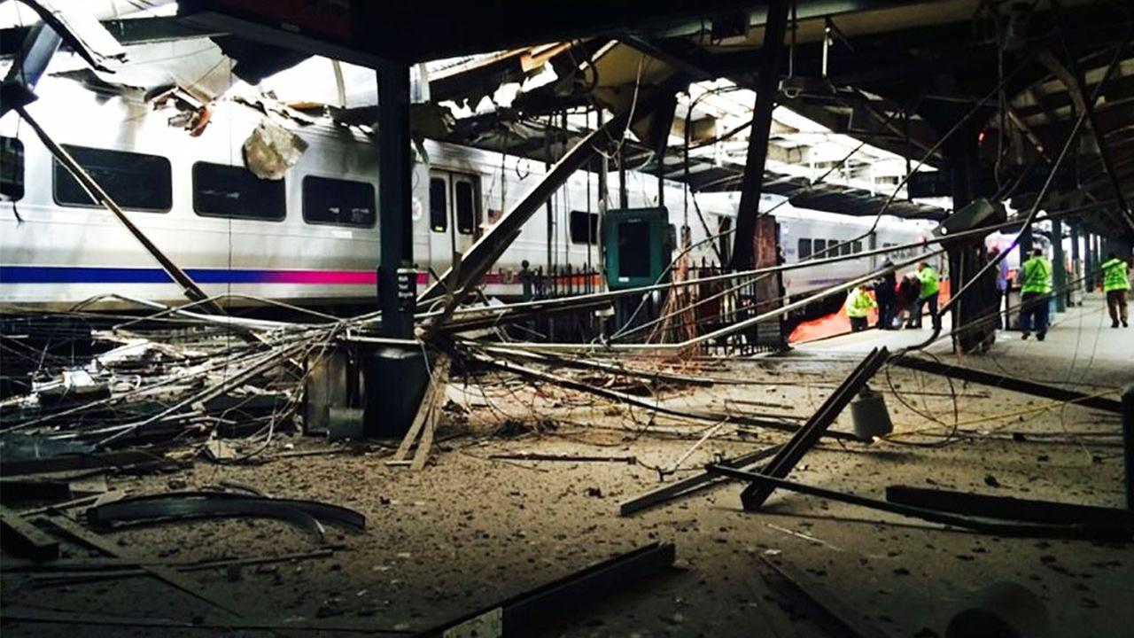 At least one person was killed and more than 100 were injured after a commuter train barreled into a rail station in New Jersey on Thursday, Sept. 29, 2016.