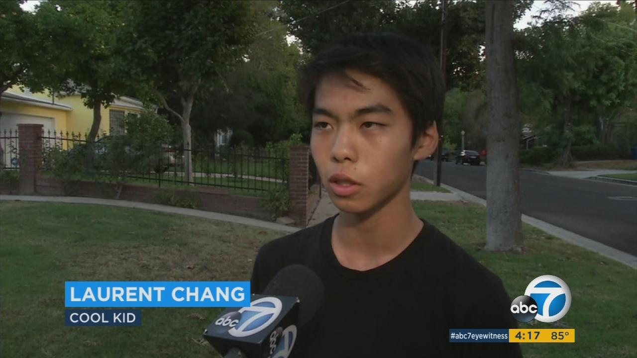 This weeks ABC7 Cool Kid is Laurent Chang, who uses music to reach out to those who may feel isolated.