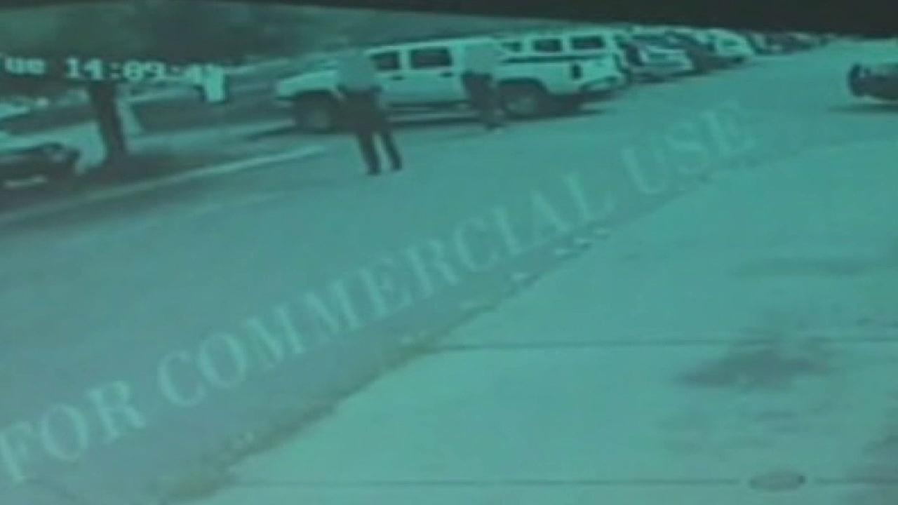 Surveillance video from a nearby business shows the moments before Alfred Olango, an unarmed man, was shot by police during a confrontation in El Cajon.
