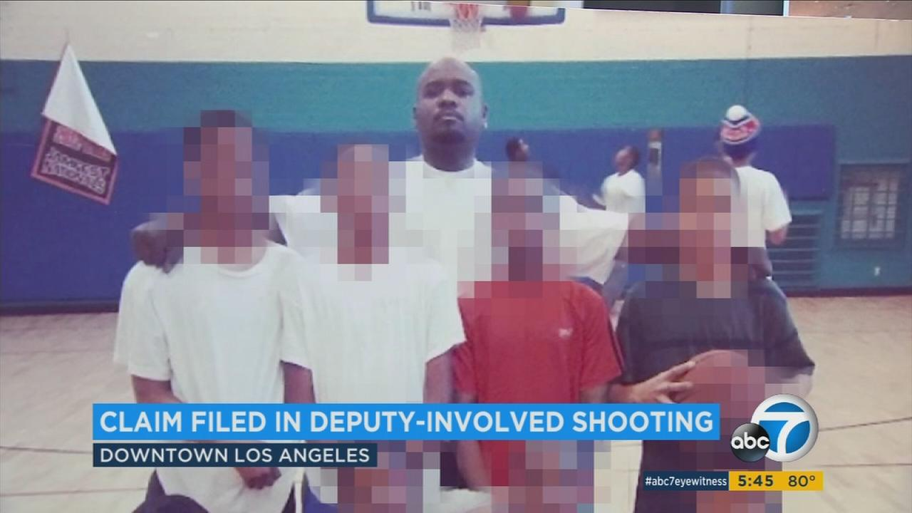 Donta Taylor, who was shot and killed by Los Angeles County Sheriffs Department deputies on Friday, Aug. 26, 2016, is seen in a photo provided by his family.