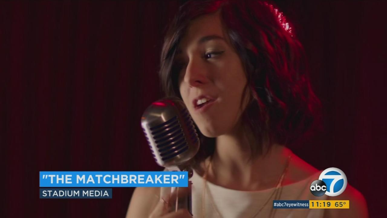 Deceased YouTube star and singer Christina Grimmie stars in The Matchbreaker.
