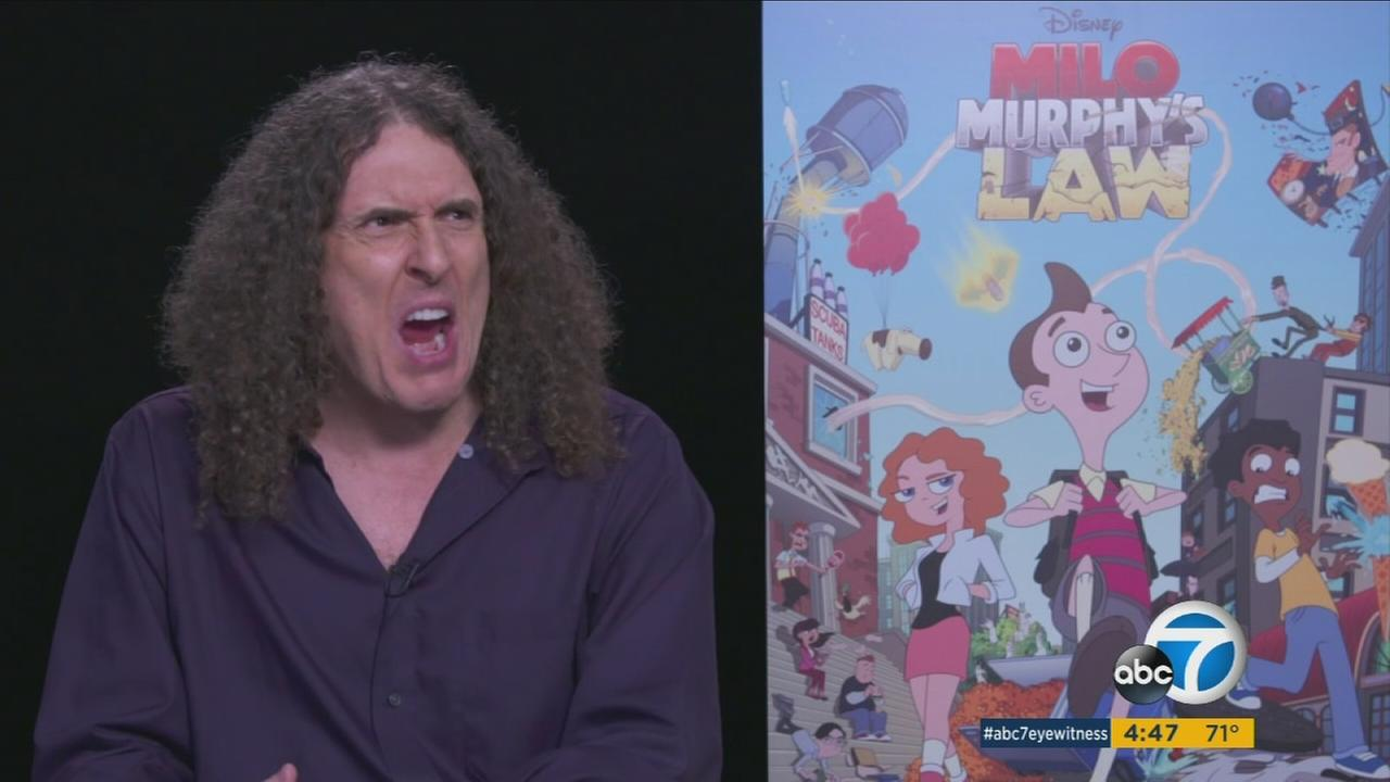 Parody musician Weird Al Yankovic is jumping into the animation world with the title role in Milo Murphys Law on Disney XD.