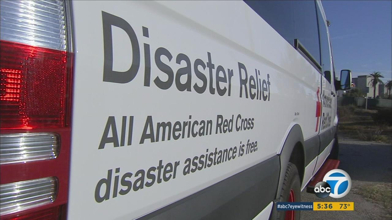 American Red Cross volunteers from Southern California are heading to states hit hard by Hurricane Matthew to help distribute food and supplies to victims of the devastating storm.
