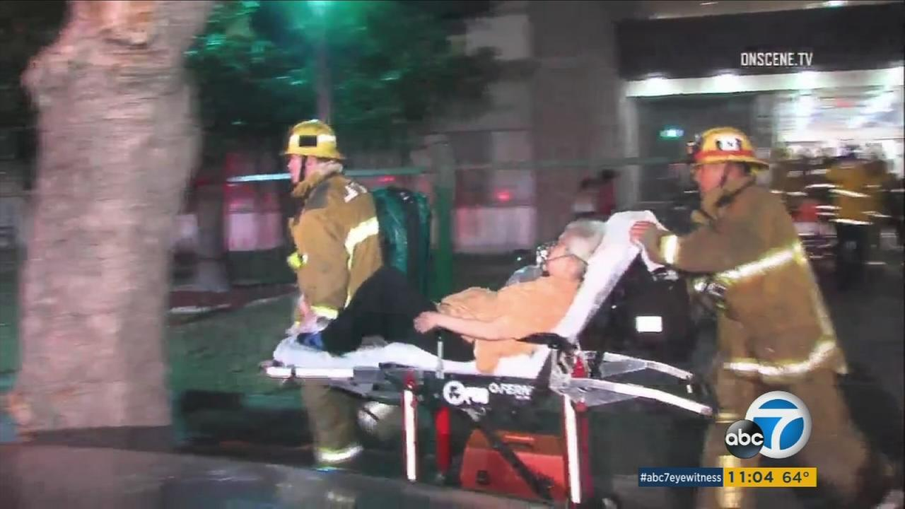 Multiple injuries were reported after a fire broke out at a senior residential care facility in the Westlake district Monday night, authorities said.