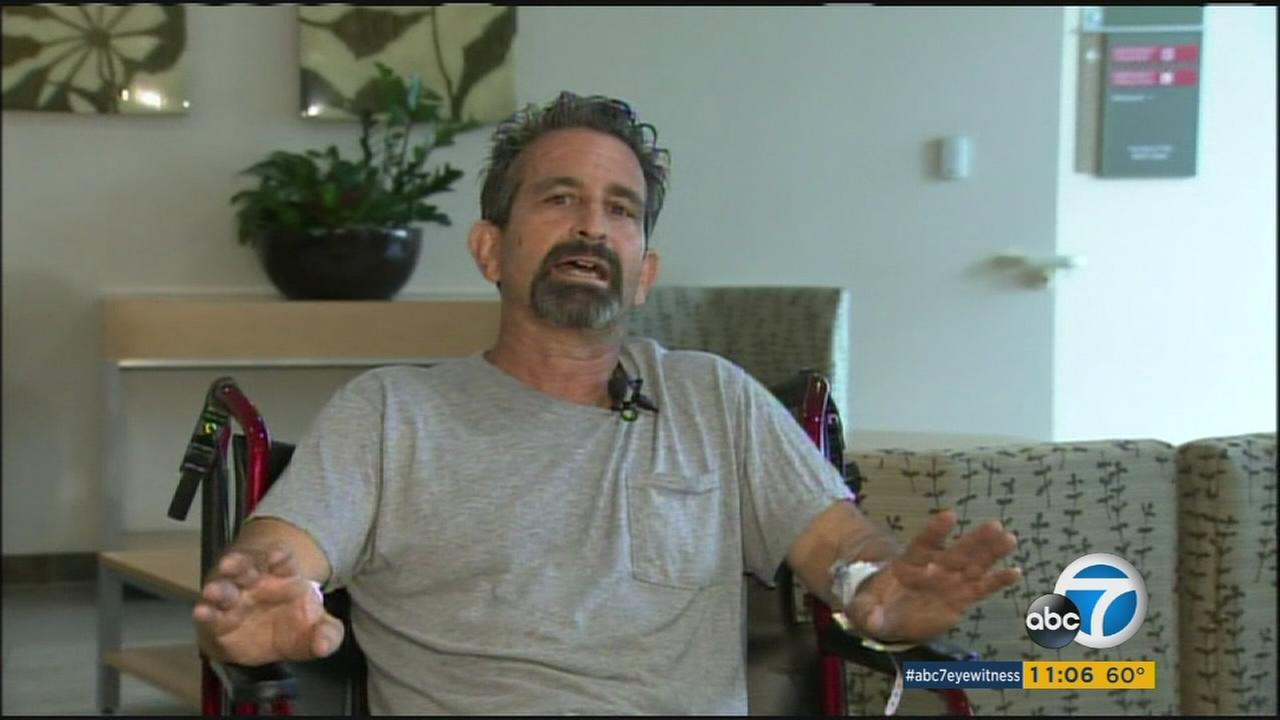 A man recalled surviving a terrifying bear attack in the Bailey Canyon Wilderness Park area in Sierra Madre just one day later.