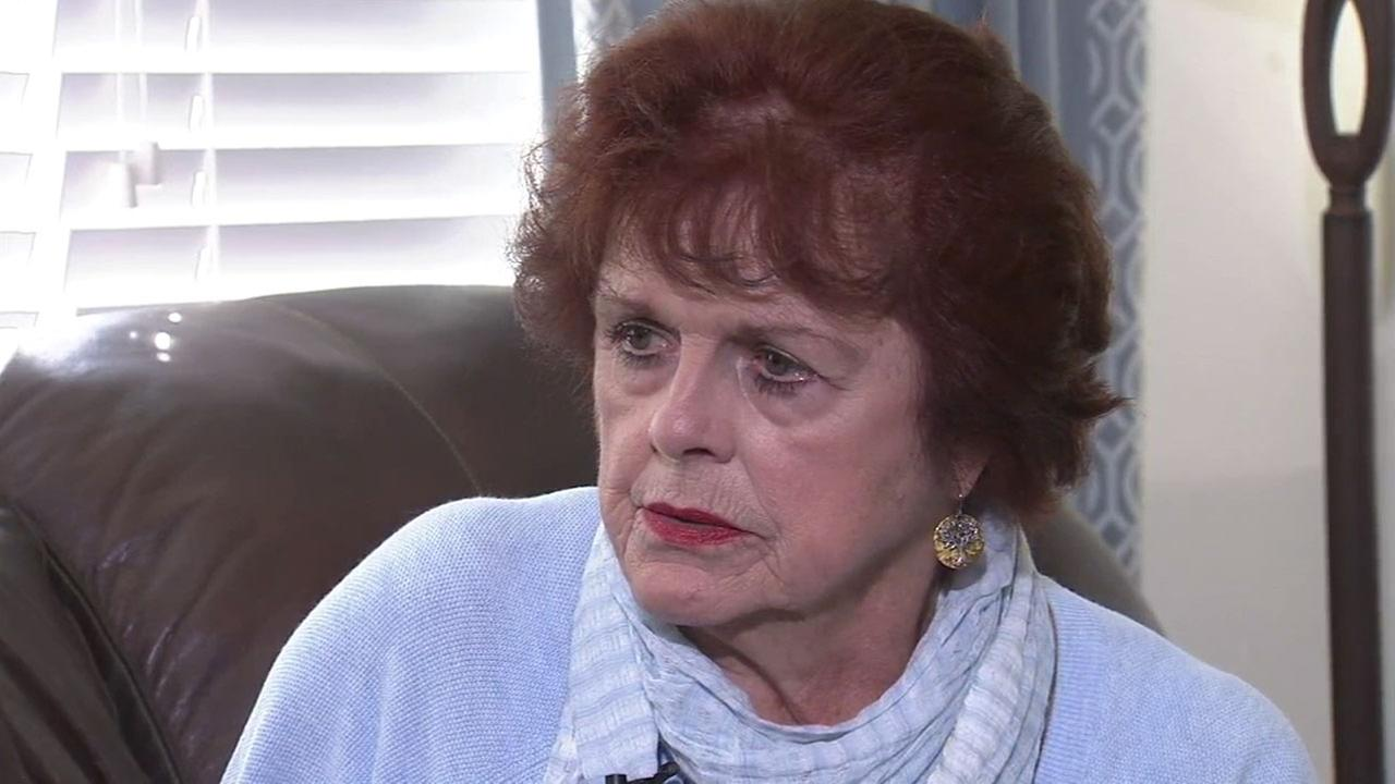 Hattie Stretz, 78, is shown on Wednesday, Oct. 12, 2016, speaking out for the first time about the deadly shooting she survived in October 2011.