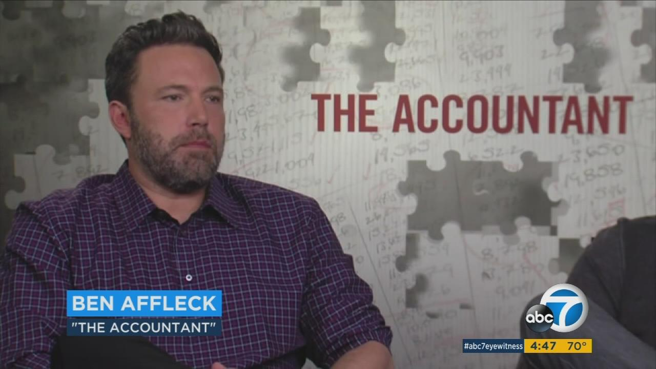 Ben Affleck plays an adult with autism who has mad math skills and a killer instinct in The Accountant.