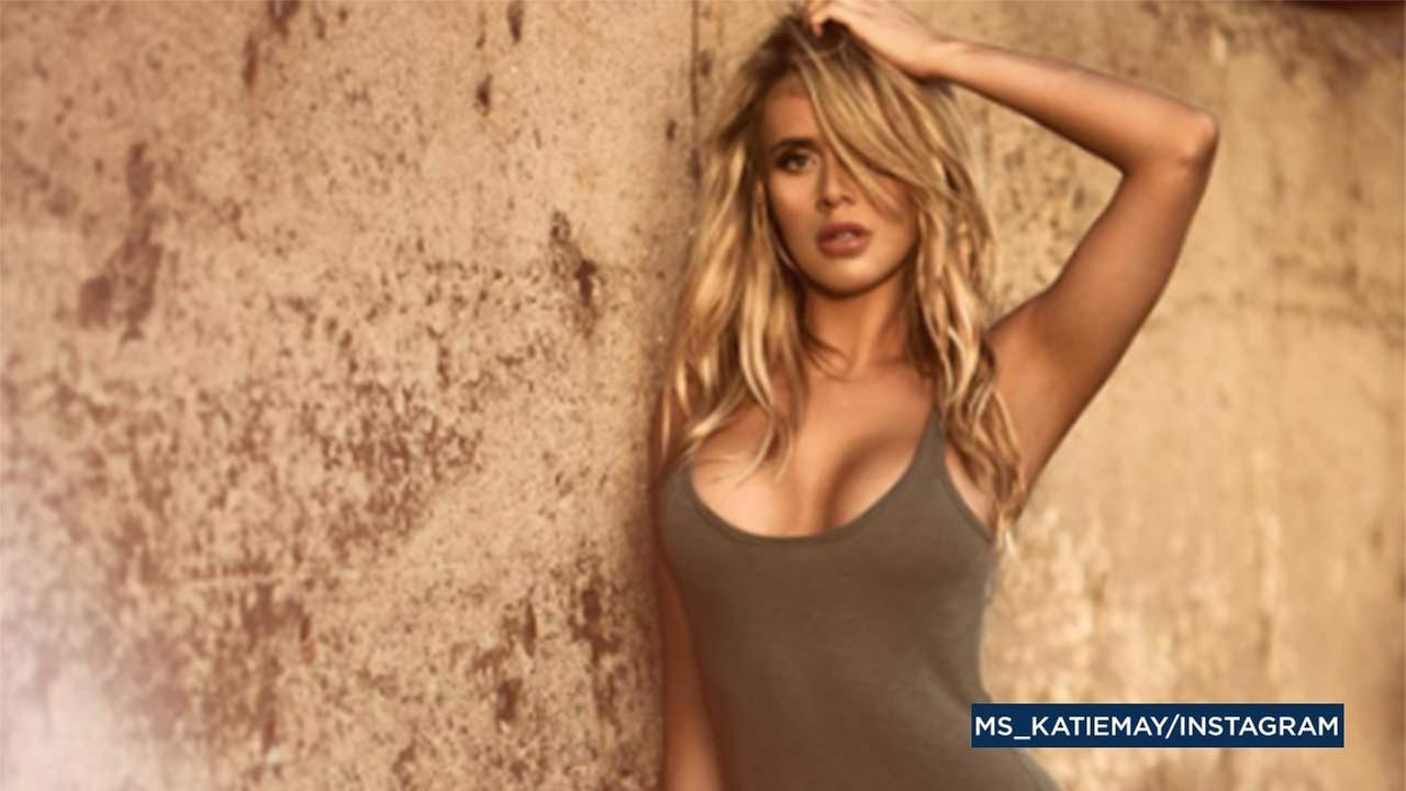 Model Katie May is seen in a photo on her Instagram account.