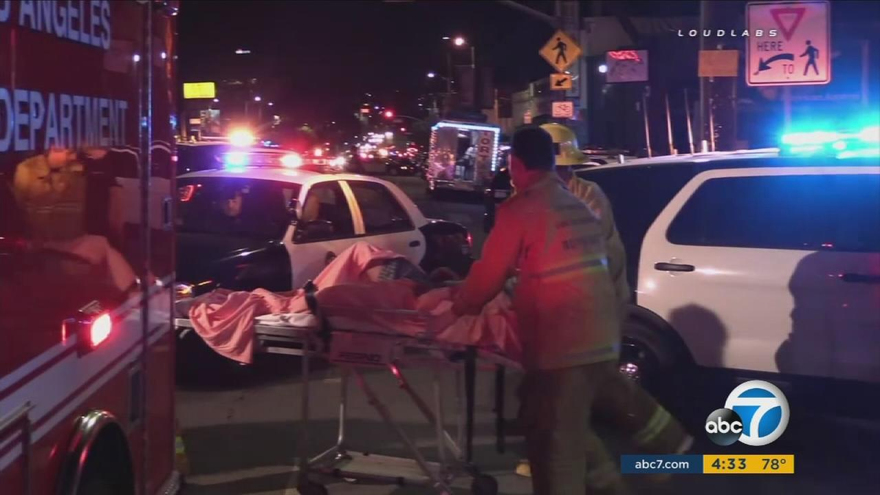 An investigation is underway after two officer-involved shootings in Echo Park involving the same suspect in two locations.