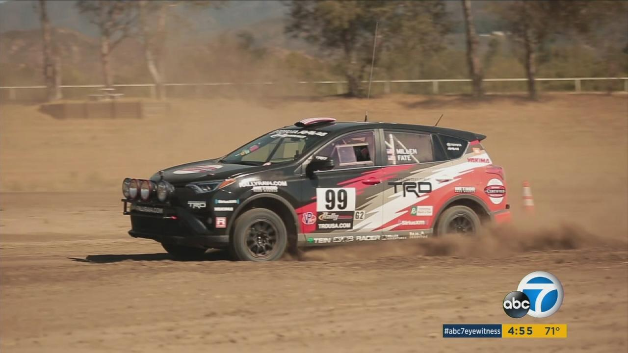 A modified RAV-4 tearing up the rally circuit is helping Toyota with the old adage Win on Sunday, sell on Monday.