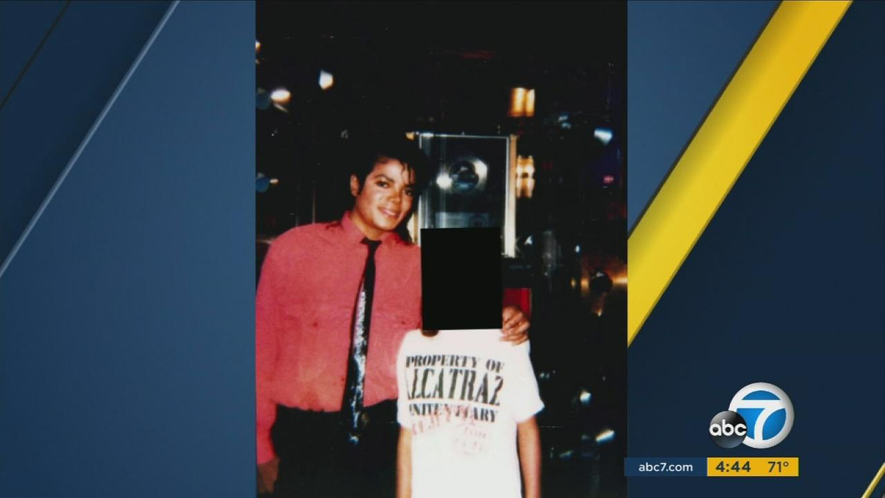 A woman alleged that Michael Jackson molested her when she was a child in 1986.