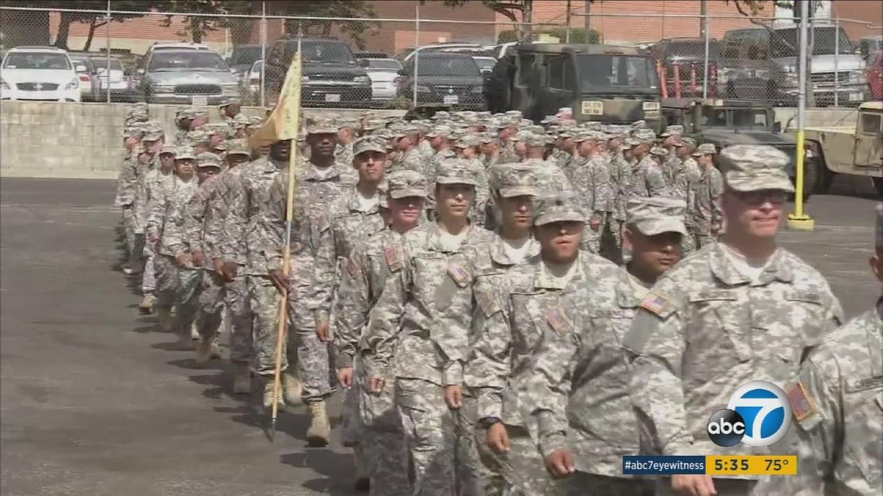 Years of protest has led to a temporary cease of repayment demands for bonuses given to California Nation Guard members.